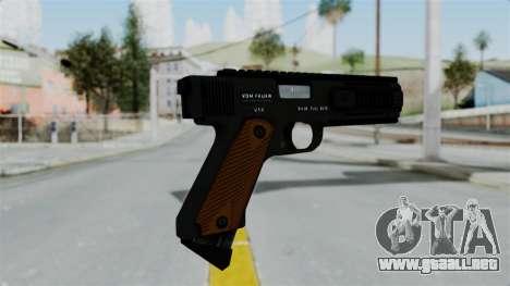 GTA 5 AP Pistol para GTA San Andreas segunda pantalla