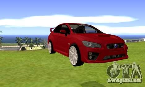 Subaru WRX STI 2015 para GTA San Andreas left