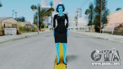 Bully Insanity Edition - Miss Danvers para GTA San Andreas segunda pantalla