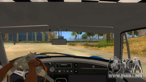 Richard Hammond MGB GT Top Gear para visión interna GTA San Andreas