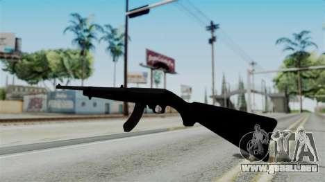 No More Room in Hell - Ruger 10 22 para GTA San Andreas segunda pantalla