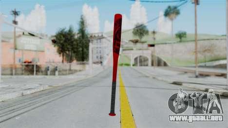 GTA 5 Baseball Bat 2 para GTA San Andreas segunda pantalla