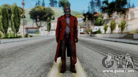 Marvel Future Fight - Star-Lord para GTA San Andreas segunda pantalla