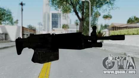 GTA 5 Combat MG para GTA San Andreas segunda pantalla