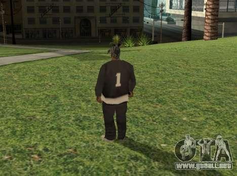 Black fam1 para GTA San Andreas segunda pantalla