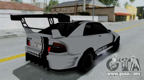 GTA 5 Karin Sultan RS Drift Double Spoiler PJ para vista inferior GTA San Andreas