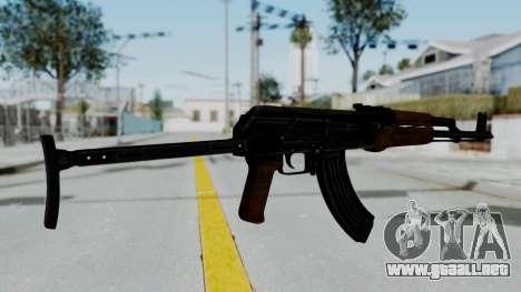 New HD AK-47 para GTA San Andreas segunda pantalla