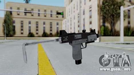 GTA 5 Micro SMG - Misterix 4 Weapons para GTA San Andreas tercera pantalla