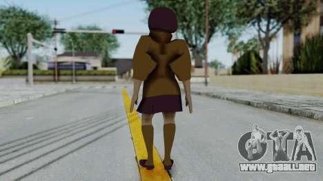 Scooby Doo Velma para GTA San Andreas tercera pantalla