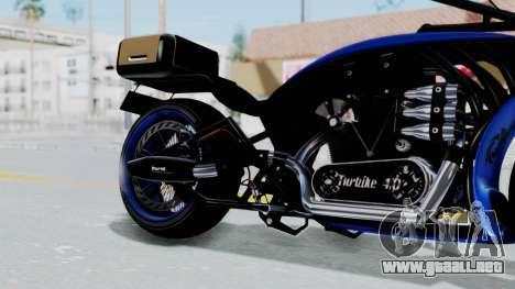 Turbike 4.0 para la visión correcta GTA San Andreas