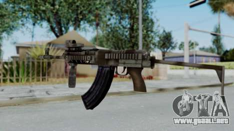 Arma OA AK-47 Eotech para GTA San Andreas segunda pantalla