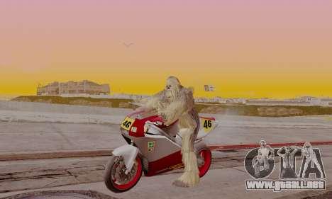 Chewbacca para GTA San Andreas segunda pantalla