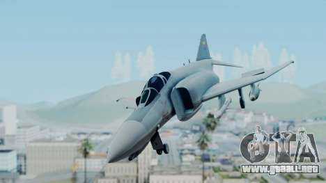 F-4E Phantom II Royal Noord-Hollandian Air Force para GTA San Andreas