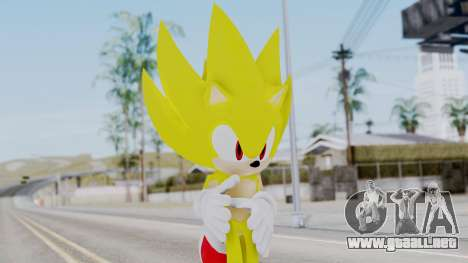 Super Sonic The Hedgehog 2006 para GTA San Andreas
