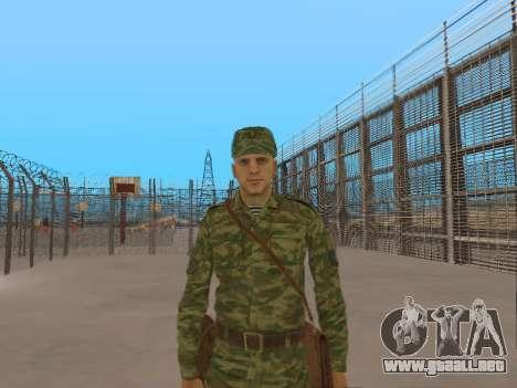 El aire de soldado para GTA San Andreas