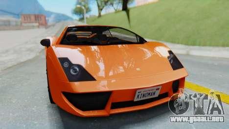 GTA 5 Pegassi Vacca IVF para la visión correcta GTA San Andreas