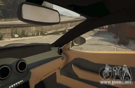 GTA 5 Ferrari 599 GTO[Replace] vista lateral derecha