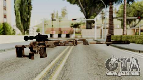 Dragunov Elite para GTA San Andreas