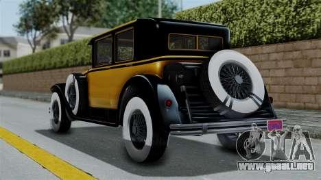 GTA 5 Albany Roosevelt Valor IVF para GTA San Andreas left