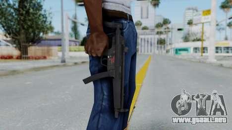 Arma AA MP5A5 para GTA San Andreas tercera pantalla