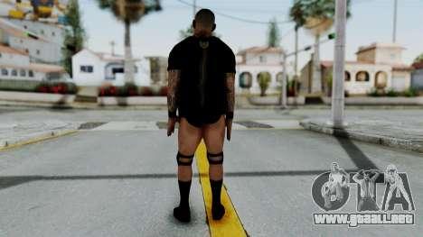 WWE Randy 1 para GTA San Andreas tercera pantalla