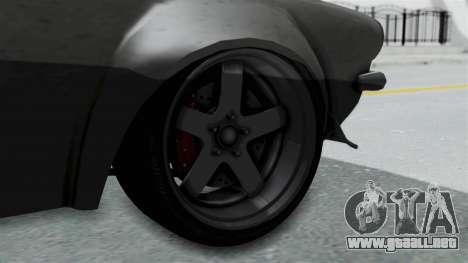 GTA 5 Nightshade para GTA San Andreas vista posterior izquierda