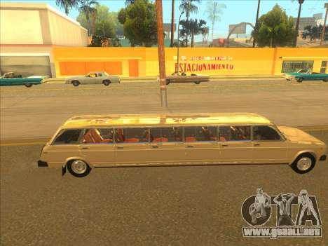 VAZ 2104 13-door para GTA San Andreas vista hacia atrás