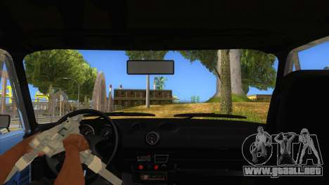 VAZ 2106 Drift Edition para visión interna GTA San Andreas