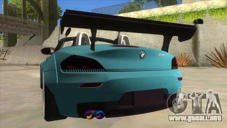 BMW Z4 Liberty Walk Performance para vista inferior GTA San Andreas