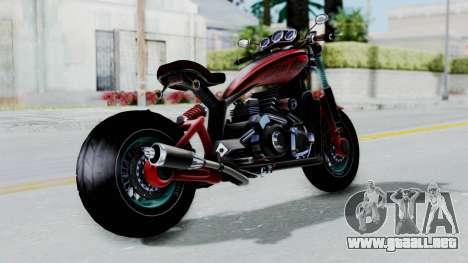 Turbike 3.0 para GTA San Andreas left