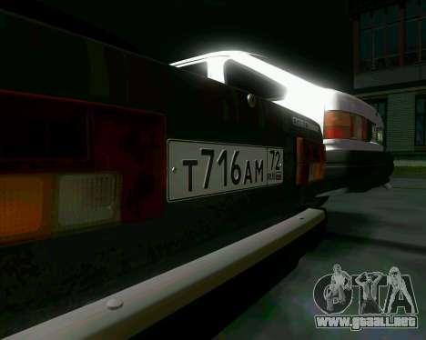 VAZ 2107 Hobo para GTA San Andreas vista hacia atrás