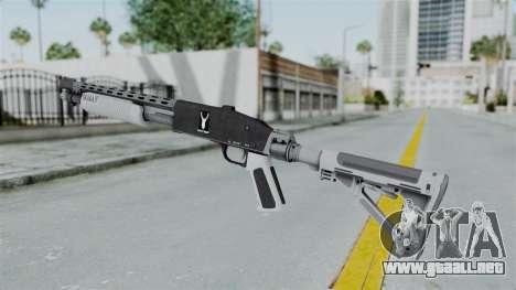 GTA 5 Pump Shotgun - Misterix 4 Weapons para GTA San Andreas segunda pantalla