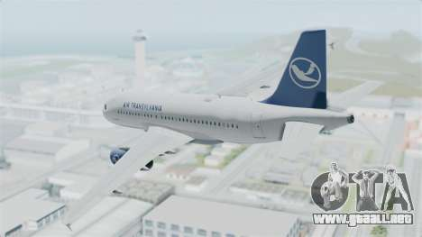 Airbus A319 Air Transylvania para GTA San Andreas left