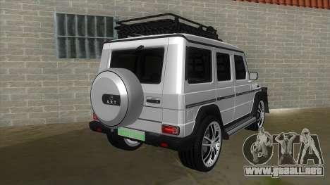 Mercedes-Benz G55 Response para la visión correcta GTA San Andreas