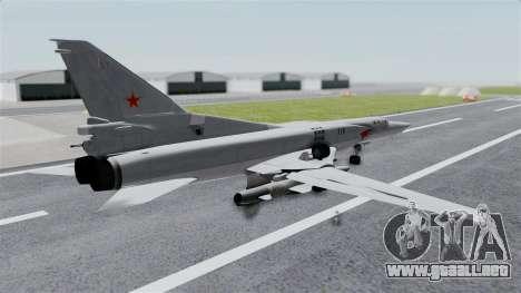 TU-22M3 Gris para GTA San Andreas left