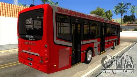 TodoBus Pompeya II Agrale MT15 para la visión correcta GTA San Andreas