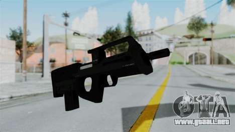 GTA 5 Assault SMG para GTA San Andreas segunda pantalla