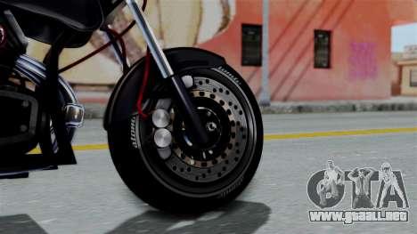 Turbike 2.0 para GTA San Andreas vista posterior izquierda