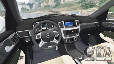Mercedes-Benz GL63 (X166) AMG para GTA 5