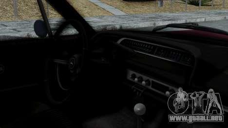 Chevrolet Impala 1964 para la visión correcta GTA San Andreas