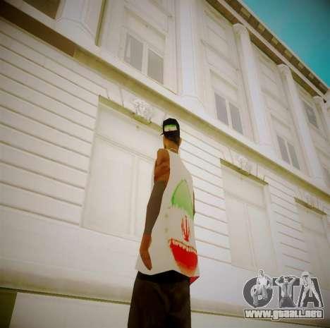 Iranian fam3 para GTA San Andreas segunda pantalla