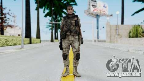 Crysis 2 US Soldier 6 Bodygroup B para GTA San Andreas segunda pantalla
