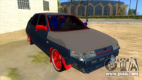 VAZ 2112 Hobo para GTA San Andreas vista hacia atrás