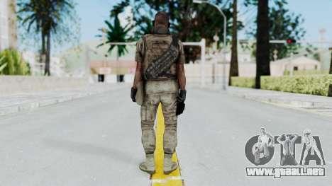 Crysis 2 US Soldier 6 Bodygroup B para GTA San Andreas tercera pantalla