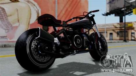 Turbike 2.0 para GTA San Andreas left