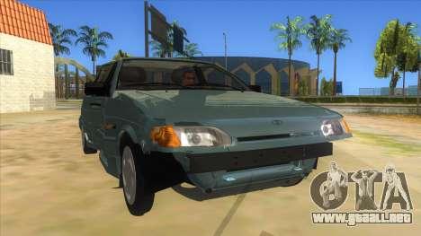 VAZ 2113 de la palanca de cambios para GTA San Andreas vista hacia atrás