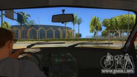 Dacia 1310L 1999 para visión interna GTA San Andreas