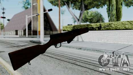 No More Room in Hell - Simonov SKS para GTA San Andreas tercera pantalla