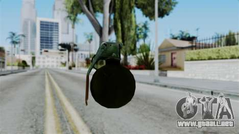 No More Room in Hell - Grenade para GTA San Andreas tercera pantalla