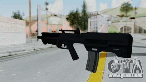 GTA 5 Advanced Rifle para GTA San Andreas segunda pantalla